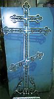 Кованый крест по эскизу 08