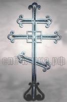 Кованый крест на могилу