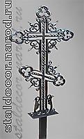 Кованый крест шестиконечный