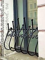 Решетка кованая на половину окна