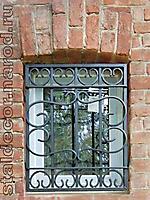Решетка кованая на окно по эскизу РО-004