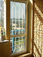 Решетка на дверь по эскизу РО-010
