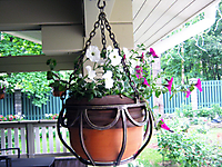 Подвесная цветочнца для керамического горшочка