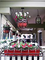 цветочница кованая для керамического ящика