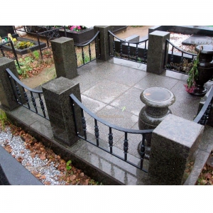 Оградка на могилу 233 - 9500 руб/метр