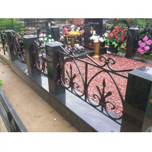 Оградка на могилу 333 - 11800 руб/метр