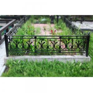Оградка на могилу 344 - 10500 руб/метр
