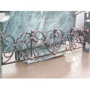 Оградка на могилу 370 - 9800 руб/метр