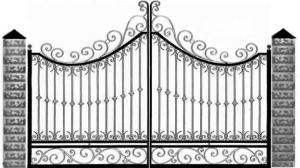 Кованые ворота 066