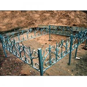 Оградка на могилу 229 - 10800 руб/метр