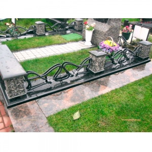 Оградка на могилу 325 - 9600 руб/метр