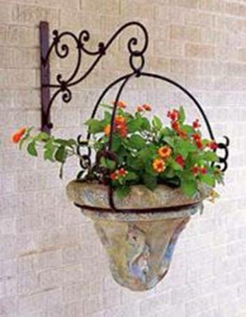 Кованая цветочница 35