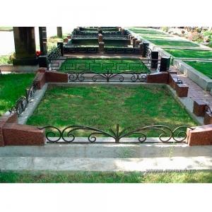 Оградка на могилу 307 - 3400 руб/метр