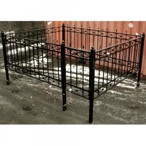 Оградка на могилу 211 - 4600 руб/метр