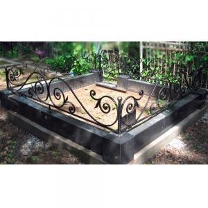 Оградка на могилу 298 - 6400 руб/метр