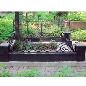 Оградка на могилу 328 - 12600 руб/метр