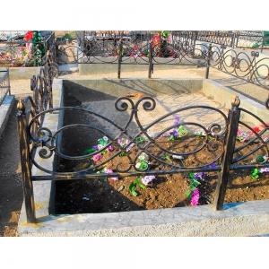 Оградка на могилу 255 - 8500 руб/метр