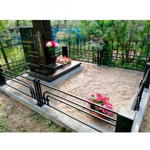Оградка на могилу 321 - 5600 руб/метр