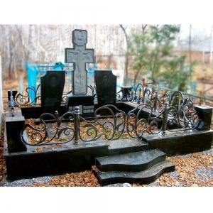 Оградка на могилу 363 - 14500 руб/метр