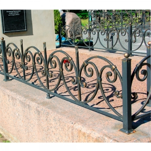 Оградка на могилу 297 - 5800 руб/метр