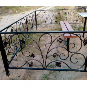 Оградка на могилу 334 - 14800 руб/метр