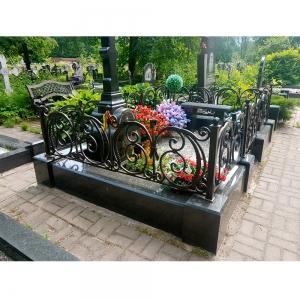 Оградка на могилу 343 - 12500 руб/метр