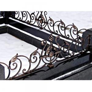 Оградка на могилу 315 - 10200 руб/метр