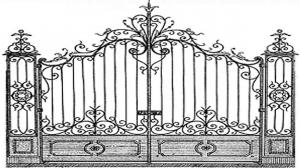 Кованые ворота 118