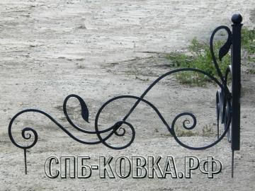 Уголок на могилу 08  - 4 400 рублей/шт.