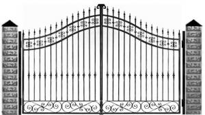 Кованые ворота 063