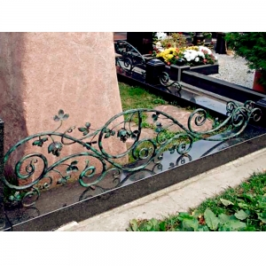 Оградка на могилу 353 - 22500 руб/метр