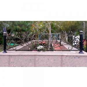 Оградка на могилу 283 - 10200 руб/метр