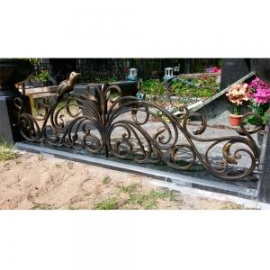 Оградка на могилу 367 - 15200 руб/метр