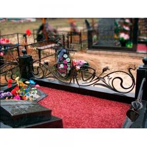 Оградка на могилу 326 - 9200 руб/метр