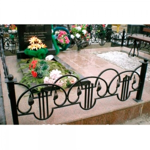 Оградка на могилу 330 - 13200 руб/метр