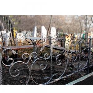 Оградка на могилу 257 - 11800 руб/метр