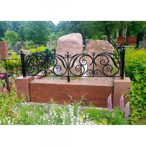 Оградка на могилу 345 - 6500 руб/метр