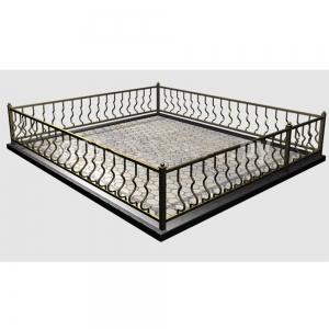 Оградка на могилу 209 - 8500 руб/метр