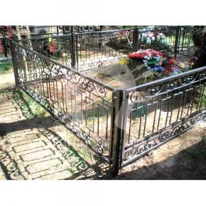 Оградка на могилу 212 - 4900 руб/метр