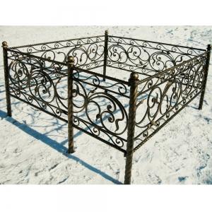 Оградка на могилу 293 - 12400 руб/метр