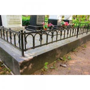 Оградка на могилу 227 - 9400 руб/метр