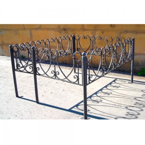 Оградка на могилу 237 - 8700 руб/метр