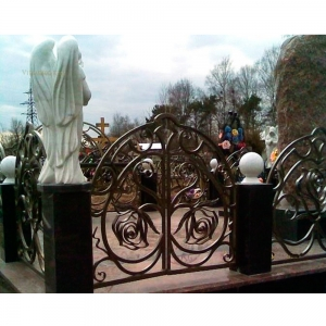 Оградка на могилу 366 - 12500 руб/метр