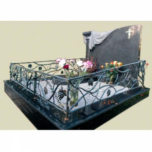 Оградка на могилу 356 - 15200 руб/метр