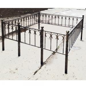 Оградка на могилу 201 - 3600 руб/метр