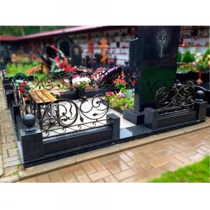 Оградка на могилу 316 - 10800 руб/метр