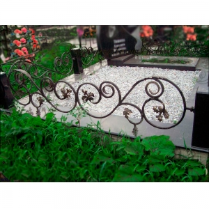 Оградка на могилу 271 - 4200 руб/метр