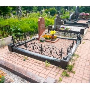 Оградка на могилу 320 - 15800 руб/метр