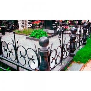 Оградка на могилу 260 - 11200 руб/метр