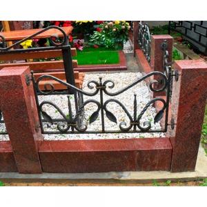 Оградка на могилу 300 - 4800 руб/метр